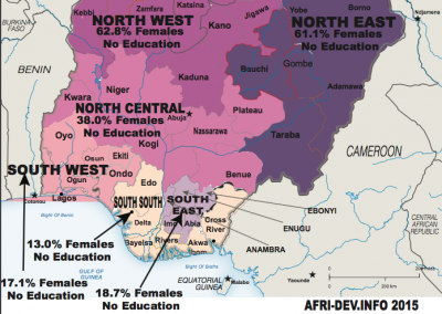 (Nigeria)NO-Education-Female-Geo-Political-Zones-SDG 4.1&4.5