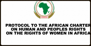 Protocol to the African Charter on Human & Peoples Rights - on the Rights of Women in Africa